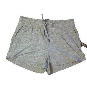 Kyodan Women's Active Knit Heather Gray Shorts NWT